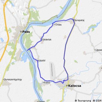 Kalocsa, Dunapataj, Ordas, Géderlak