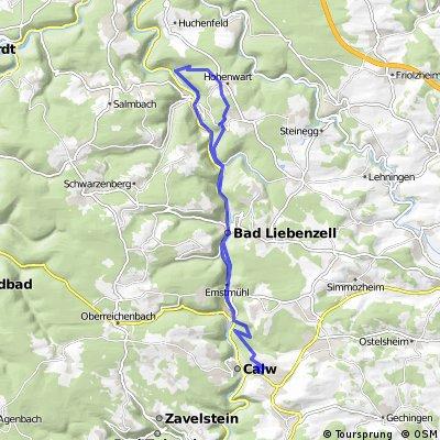 Unterreichenbach Wald-Erlebnisweg