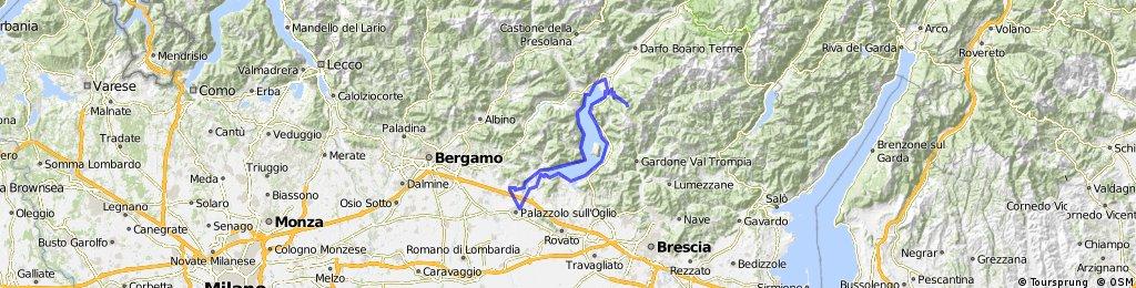 Giro Lago d'Iseo e salita a Passabocche