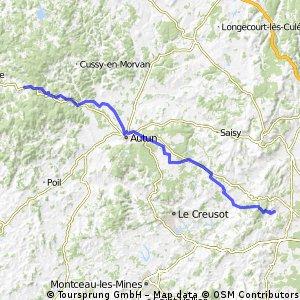 Day3: Saint Jean de Vaux  - 58430 Arleuf/Chateau Chinon