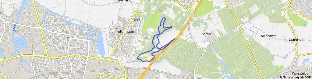 MTB Route Teteringen