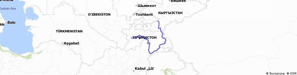 Pamir fennsik: Dushanbe - Wakhan volgy - Osh
