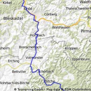 Stef@ns Tour zur Tour 06 1. Etappe vom 30.06.06