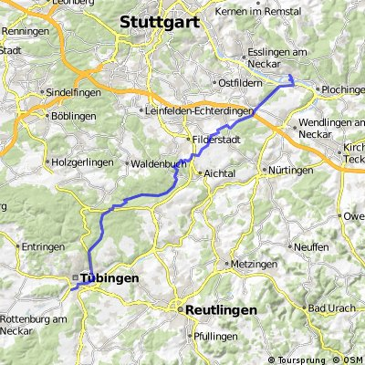 Tü - Schömbuch - Uhlberg - Altbach