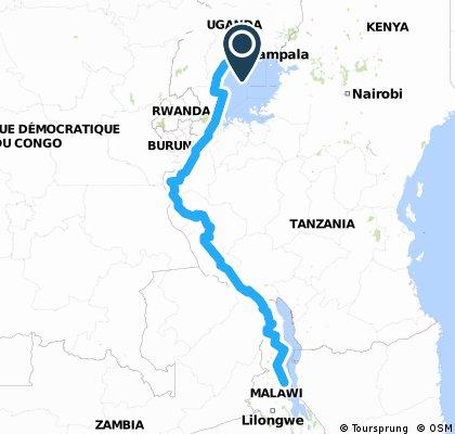 Uganda - Tanzania - Malawi