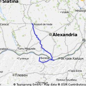 Rosiori de Vede - Svishtov - Belene
