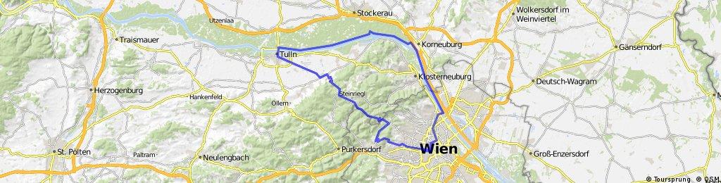 Vienna - Tulln roundtrip