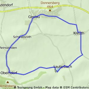Tour Geslau 10 km