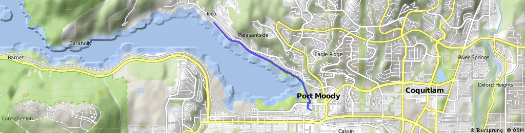 Short bike tour through Port Moody