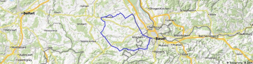 Liebenswiller-Werentzhouse-Waldighofen-Grentzingen-Willer-Magstatt-Bartenheim-Blotzheim-Bourgfelden