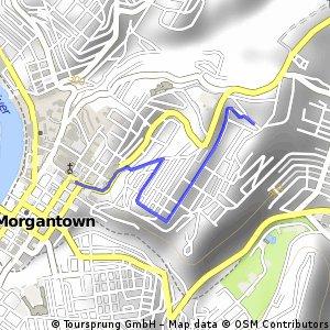 Brief bike tour through Morgantown
