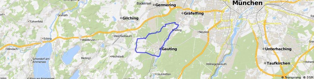 Vom Wallfahrtskirchlein Maria Eich zum Maibaumdorf Unterbrunn