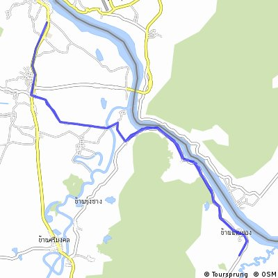 Long ride from (null) to สถาน