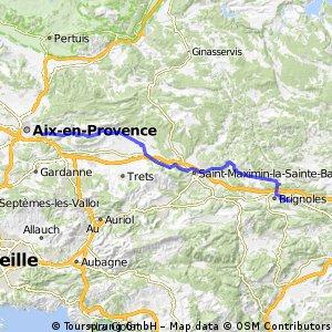 Aix en Provence-Brignoles
