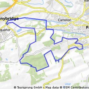 bike tour through Falkirk
