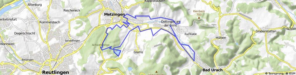 20.03.16 Metzingen, Stausee, Glems, Urach