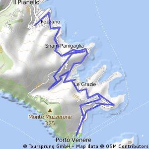 Frazione ciclismo Triathlon Porto Venere