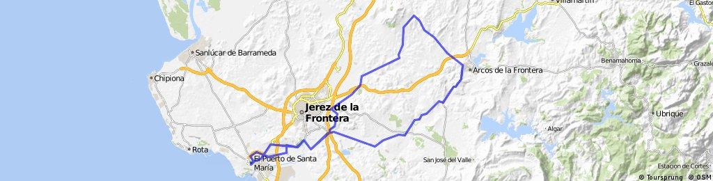 El Puerto- Gibalbin-Arcos-El Puerto