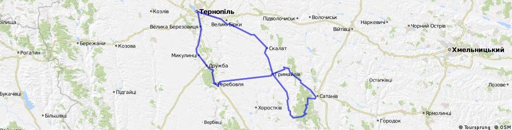 Тернопіль - Скалат