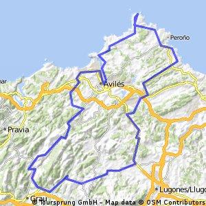 Asturias Concejo a Concejo 2016. Etapa 5 (Cabo Peñas)