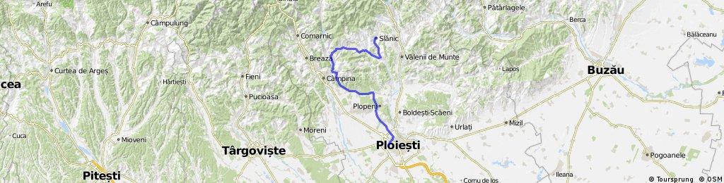 Slanic-Doftana-Ploiesti Vest