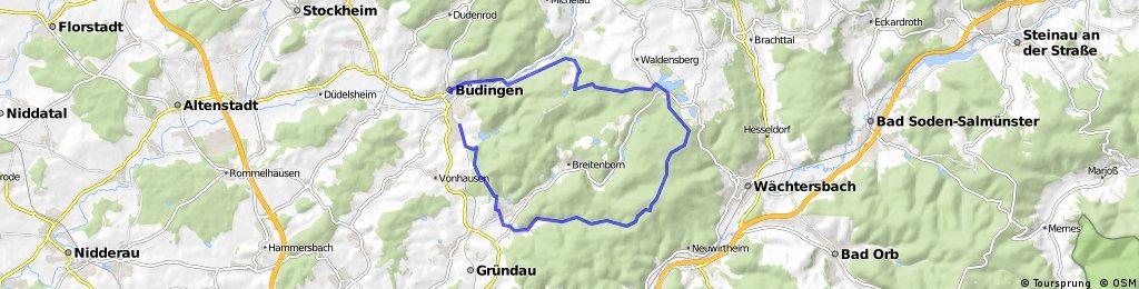 Büdingen - Vier Fichten - Runde