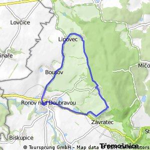 Ronov - Lipovec - Chvalovice - Lhůta