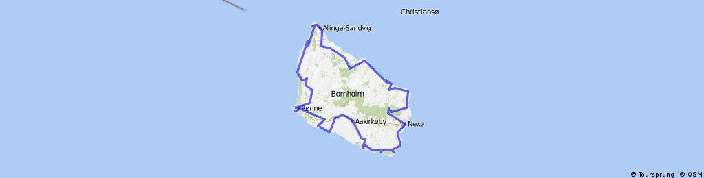 Bornholm, Rugia, Uznam czyli rowerem po wyspach.