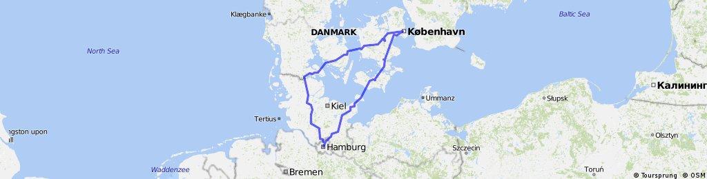 Hamburg Kopenhagen Test