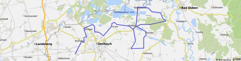 RTF Delitzsch fährt los über 73 km