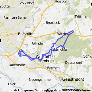 Boberg-Bille-Sachsenwald-Bille-Boberg