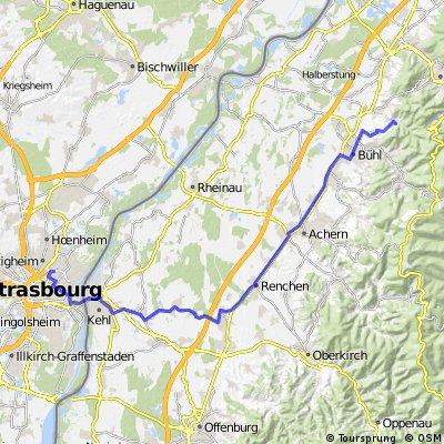 Baden Baden - Kehl - Strasbourg