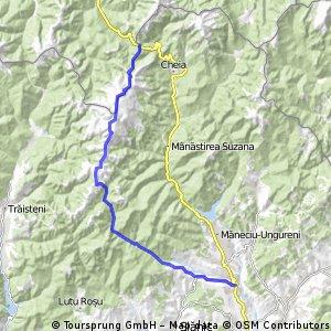 traseul muntii Grohotisului