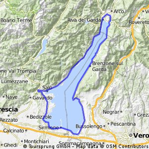Garda Lake - Randonneur Circuit - Short Course