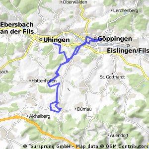 Boll-Göppingen mit SchlossFilseck