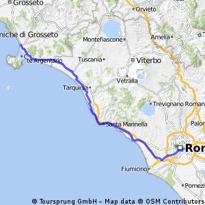7.Etappe der Italientour