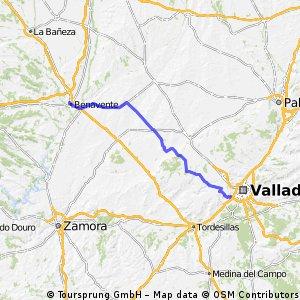 Valladolid_Benavente_carretera