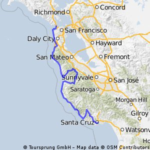 Proposed Stage 3 2010 Tour of California