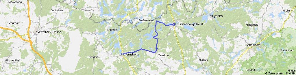 Rheinsberg-Stechlin-Fuerstenberg