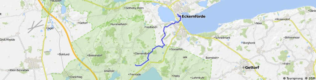 deko: Kirchhorst nach Eckernförde