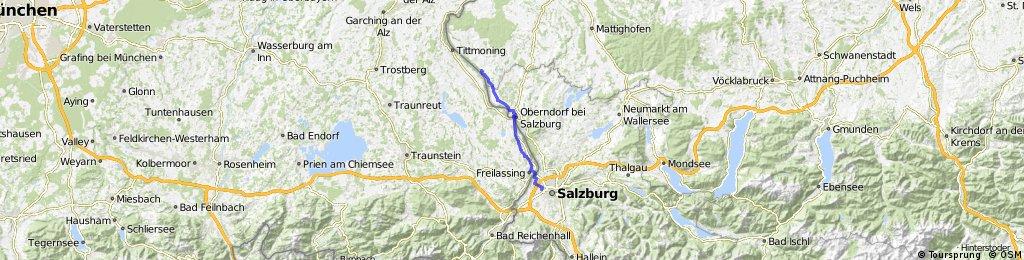 Radfahren Albus Riedersbach 32.5km 1h 14min