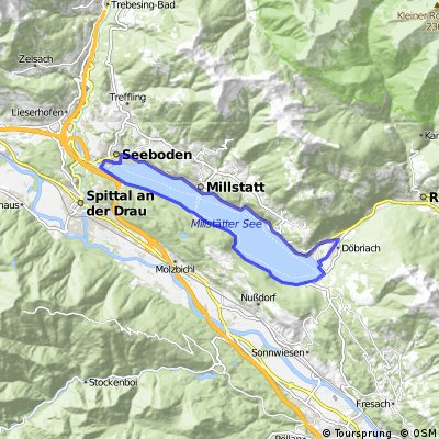 SEEBODEN (AT): Millstatter see