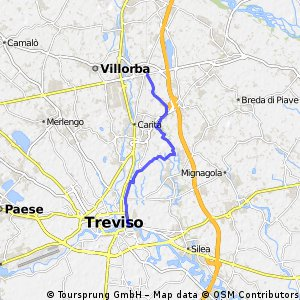 2. Bike tour from Villorba to Treviso