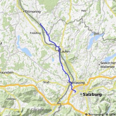 Radfahren Riedersbach Albus 33km 110hm 1h 20min