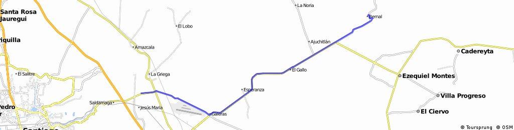 J75 – Vendredi 25 mars 2016 – San Isidro Del Marques – Bernal