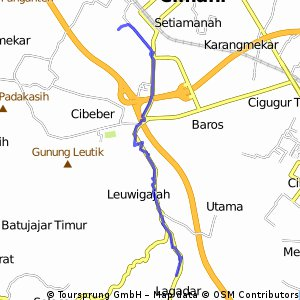 Short bike tour through Cimahi