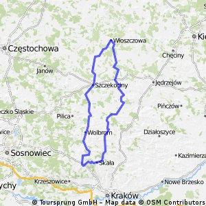 Jerzmanowice - Włoszczowa