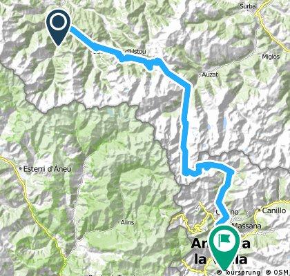 B2B 8.etapp Pont de la Taule - Andorra la Vella