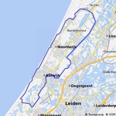 The Dutch Coast Katwijk Noordwijk.