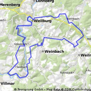 MTB mit Single Trails auf Lahn Wanderwegen